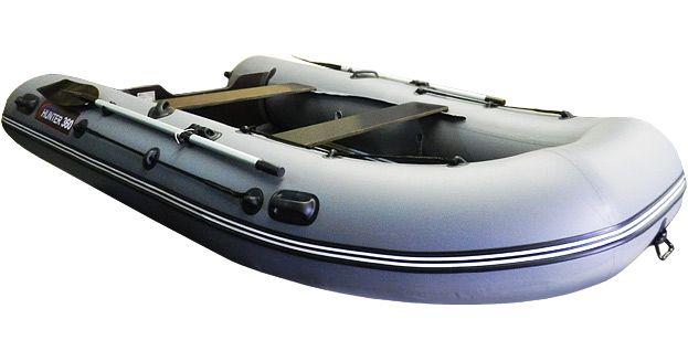 видео лодка пвх хантер 240